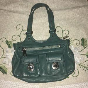 Mark Jacobs Turquoise leather Satchel